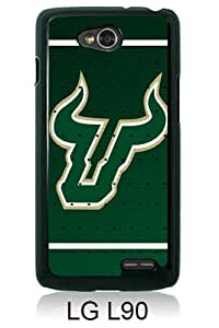 LG L90 Case ,Hot Sale And Popular Designed LG L90 Case With NCAA American Athletic Conference AAC Football South Florida Bulls 1 Black Hight Quality Cover