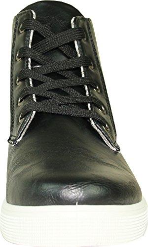 Men 5M Toe Shoe Round Plain 9 Sneaker Black CORONADO GATSBY Soft a with Chukka Comfort Boot 5 SpqwfO4wxd