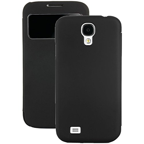 Poetic Flipbook Case for Samsung Galaxy S4 (Black) - 1