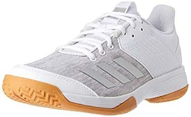 adidas WoMen's Ligra 6 Shoes, Footwear White/Silver Metallic/Grey Two, 5.5 US (5.5 AU)