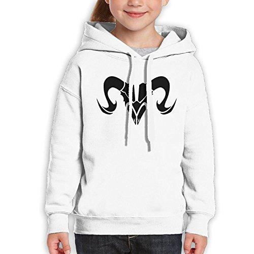 Starcleveland Teenager Pullover Hoodie Sweatshirt Constellation Zodiac Aries Sign Teen's Hooded For Boys Girls