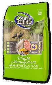 Dog Food: NutriSource Weight Management Grain Free