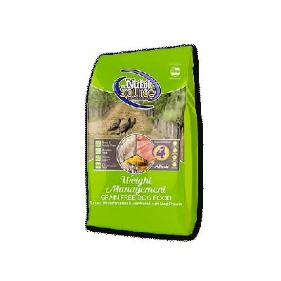 Nutrisource Grain Free ( Turkey ) Weight Management Dog Food 5Lb