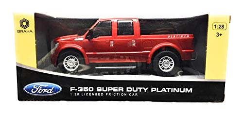Braha Ford F350 Super Duty Platinum 1:28 Licenced Friction Car (Silvery)