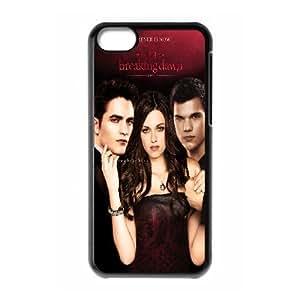 LSQDIY(R) The Twilight Saga iPhone 5C Case, Custom iPhone 5C Phone Case The Twilight Saga