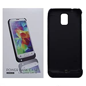 [ARENA] BLACK RECHARGABLE BATTERY PACK COVER HARD CASE for SAMSUNG GALAXY S5