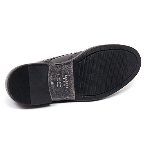 HUNDRED 100 E0656 Scarpa Uomo Grey Grigio Scuro Vintage Shoe Men Grigio scuro