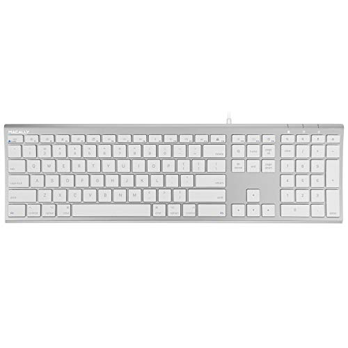 Macally Ultra Slim Computer Keyboard Notebooks product image