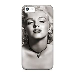 Iphone High Quality Tpu Case/ Marilyn Monroe Celebrities KHudDdA954crFmV Case Cover For Iphone 5c