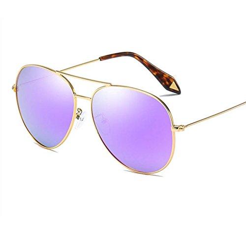 unisex los Marco 4 de Gafas protección de aire de UV400 de la sol moda metal lentes al polarizadas de Coolsir vidrios de libre las UCCw5q