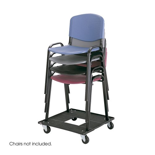 Safco Office Stacking Chair Cart