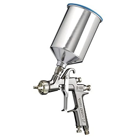 Anest Iwata 4842, W400LV-144G Spray Gun with PCG7EM 700mL Aluminum Cup Compliant with AK-1B