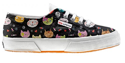 Superga Chaussures Coutume (ARTISAN SHOE)My Little Kitten