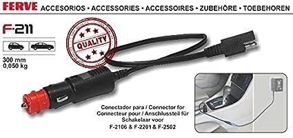 FERVE F-211 Cargadores y arrancadores: Amazon.es: Coche y moto