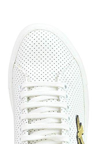 Pinko Zapatillas de Otra Piel Para Mujer Blanco Blanco