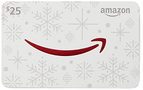 Large Product Image of Amazon.com $25 Gift Card in a Snowman Tin