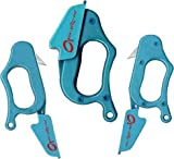 """Set of 3 Open-sezz-me Plastic Package Openers, Cure""""Wrap Rage"""" NEW"""