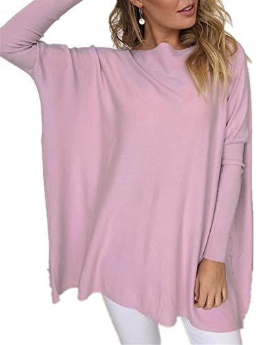 Long loose tunic Plus size maternity dress loose mini tunic long loose sweater oversized tunic loose sweater purple sweater top