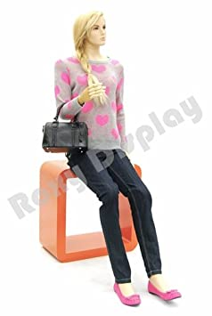 Flexible Head arms and Legs with Wooden Articulated Hands. ROXYDISPLAY/™ Male Mannequin MZ-HM01