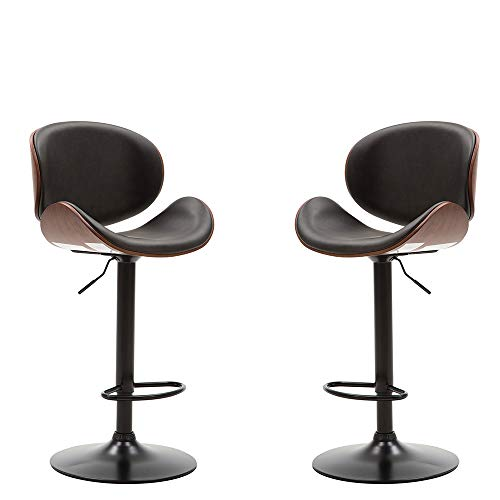 Romatlink Padded Rotary Bar Stool