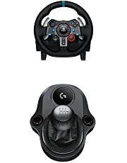 Logitech G29 Driving Force Volante da Corsa per PS4 , PS3 + Driving Force Manopola del Cambio