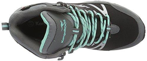 Kangaroos Women's Nangat Ankle Boots Grey - Grau (Dk Grey/Smaragd 286) Sp9WCSS9I