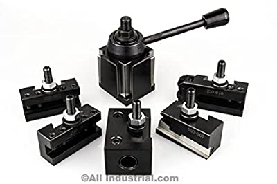 "Oxa Tool Post Set 6-9"" Swing Mini Quick Change Cnc Lathe Holder 0xa Wedge from All Industrial Tool Supply"