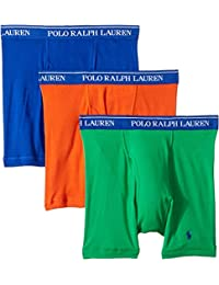Mens Classic Fit w/Wicking 3-Pack Boxer Briefs
