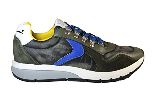 Voile Blanche Sneakers Lenny Hook Camoscio Inverno 2018