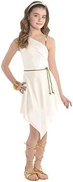 LIRAGRAM ESPAÑA, S.L.L. Disfraz de Griega Hera para niña T-U-INF: Amazon.es: Juguetes y juegos