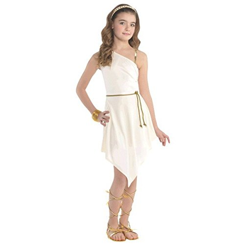 amscan Goddess Dress Costume Outfit - Child -