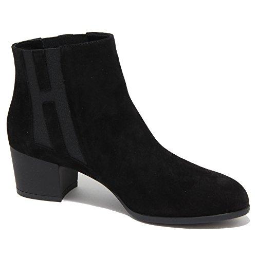 6800N tronchetto HOGAN H272 scarpe donna nero shoes woman Nero