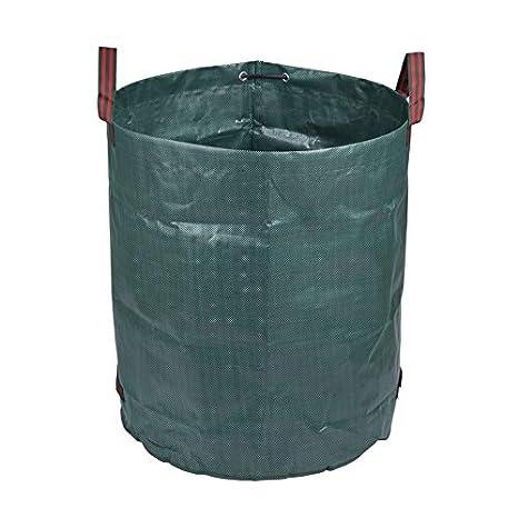 Jardín bolsa de residuos reutilizable hierba de la hoja del ...