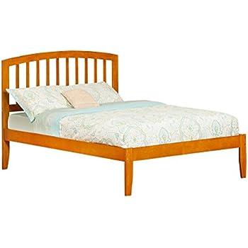 Amazon.com: Atlantic Furniture Richmond Bed with Open Foot Rail ...