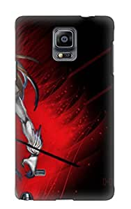 Exultantor Extreme Impact Protector Wmaguc-1652-efjcekt Case Cover For Galaxy Note 4/nice Design