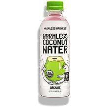 Harmless Harvest Organic Coconut Water, Original 8.75oz (Pack of 12)