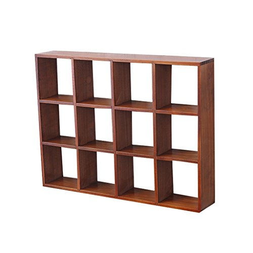 (China-Furniture Decoration Decorative Floating Frame Wooden Wall Decoration Creative Lattice Storage Rack Multi-Purpose Wall Hanging Background Wall Decoration /& (Color : B))