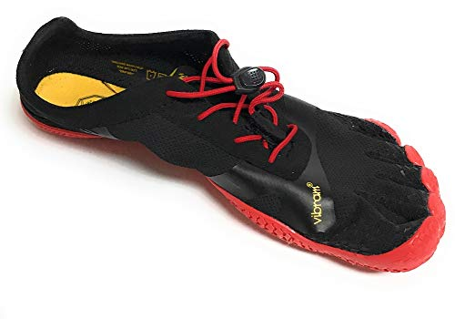 Vibram Men's KSO EVO Black/Red Cross Trainer, 8.5-9.0 M D EU (41 EU/8.5-9.0 US) by Vibram (Image #1)