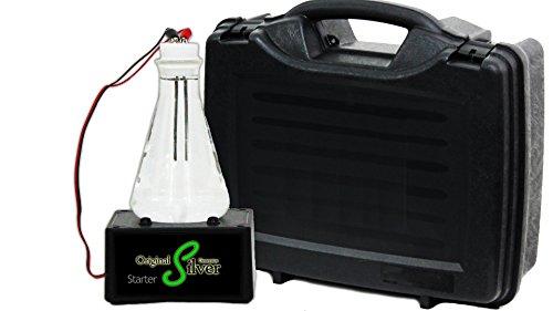 Colloidal Silver Generator Starter Storage Kit - Original Silver Generator