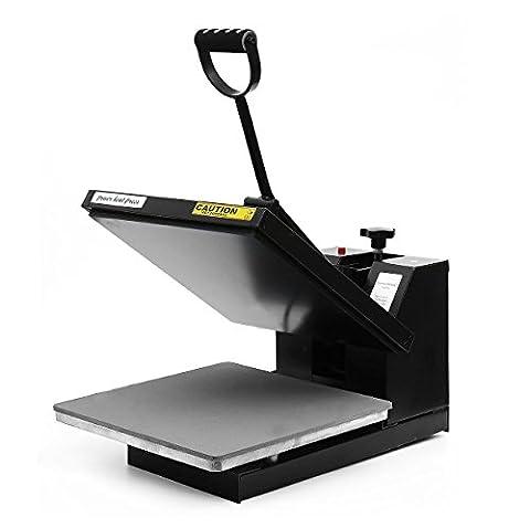 PowerPress Industrial-Quality Digital Sublimation T-Shirt Heat Press Machine, 15