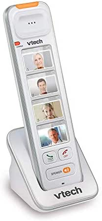 VTech SN5307 Amplified Photo DIAL Accessory Handset with Big Buttons & Large Display for SN5127 & SN5147 Senior Phone Systems