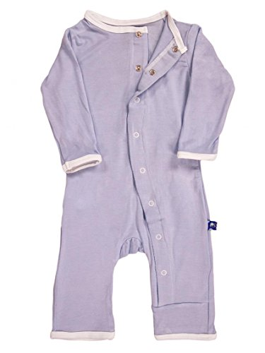 KicKee Pants Baby Boys' Applique Coveralls (Baby) - I Love Dad (Boy) - 6-12 Months