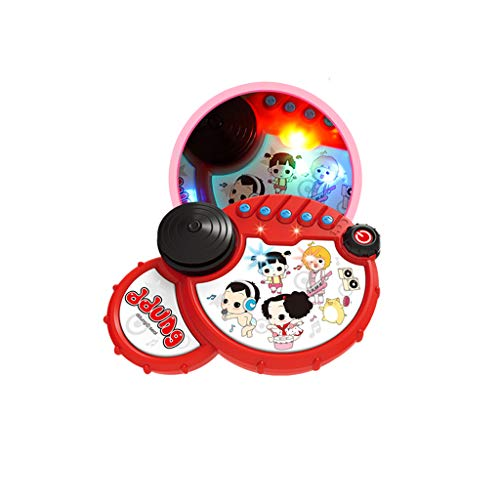 LIPENG-TOY Baby Toys Baby Pat Drums Children's Hand Drums Music Children Boys and Girls 6-12 Months Early Education Puzzle (Color : Red) by LIPENG-TOY (Image #1)