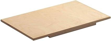 REPLOOD Spianatoia ASSE Stendi Pasta per Impastare in Legno di Betulla 50x30 Cm