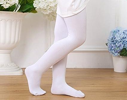 per 4-9 Anni Bambino Outflower Calze da Danza per Bambino Colore Solido Kawaii Bello Tempo Libero Studente Calze Lunghe 1pz