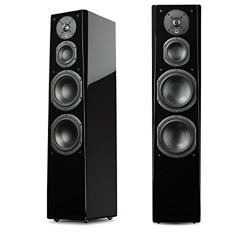 SVS Ultra Tower Flagship 3-Way Loudspeaker (Piano Gloss Pair) by SVS