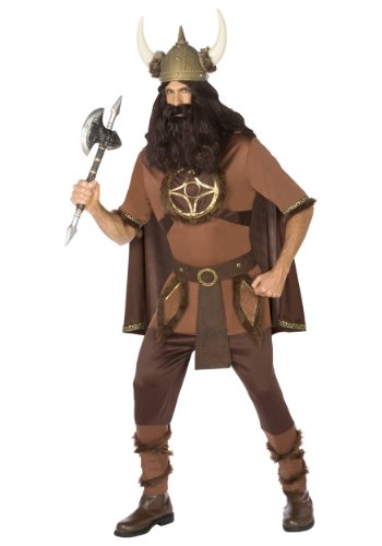 Men's Adult Viking Costume - International Costumes