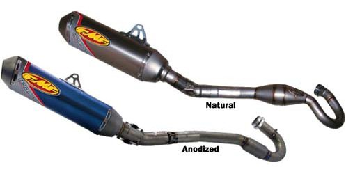 Factory 4.1 Complete System (FMF Racing Mini Factory 4.1 Full System with Stainless Steel Header , Material: Stainless Steel, Color: Natural 042110)