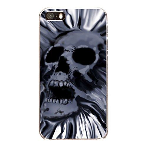 "Disagu Design Case Coque pour Apple iPhone 5 Housse etui coque pochette ""Totenschädel"""