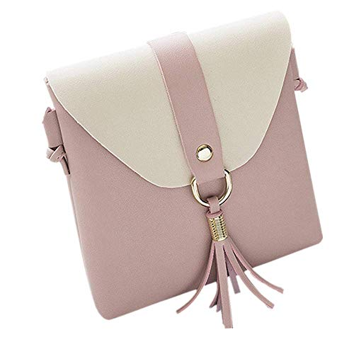 Clearance Sales Womens Girls Tassels Messenger Bags Afterso Fashion Vintage Crossbody Shoulder bags Casual Wristlets Totes Clutch Purse Wallet Handbags (16cm/6.3